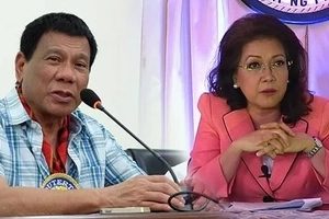 Duterte apologizes to Sereno after martial law outburst