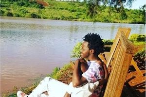 Bahati and his kids' photos that will make you wish you were part of his family