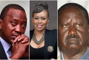 Resign and leave the presidency to Raila- Caroline Mutoko asks Uhuru