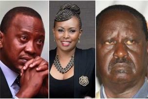 Resign and leave the presidency to Raila- Caroline Mutoko asks Uhuru