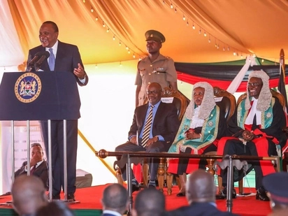 Be careful not to make controversial decisions - Uhuru tells judges as he meets Maraga