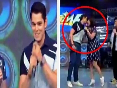 Richard Gutierrez finally visited 'It's Showtime!' His awkward reunion with ex-girlfriend Anne Curtis has gone viral!
