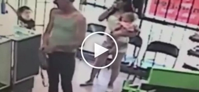 VIDEO: Evil man kidnaps girl in front of her mom! WATCH what happens next