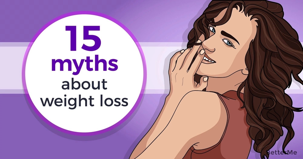 15 biggest myths about weight loss