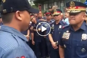 PNP Chief Dela Rosa's intense public confrontation with 'hulidap' cops left them trembling out of shame