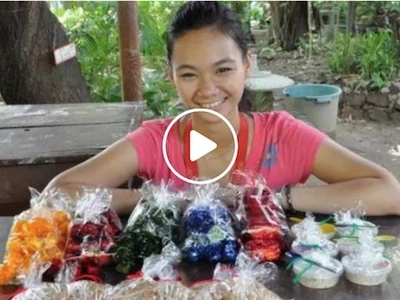 Inspiring girl shares story of how she survived life by selling yema for 10 years