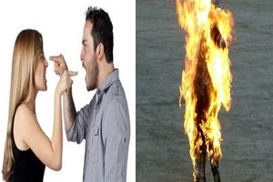 Nag-alab na galit! Filipina in Japan set on FIRE by lover in restaurant after heated argument