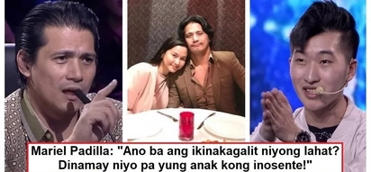 Kumampi kay mister! Mariel Padilla finally breaks her silence over Robin's controversial incident with Korean contestant
