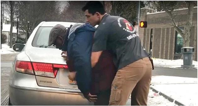 Meet man who hops out of car to saving stranger man's life (photos, video)
