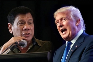 Two thumbs up! Trump approves of Duterte's techniques in dealing with SOBs