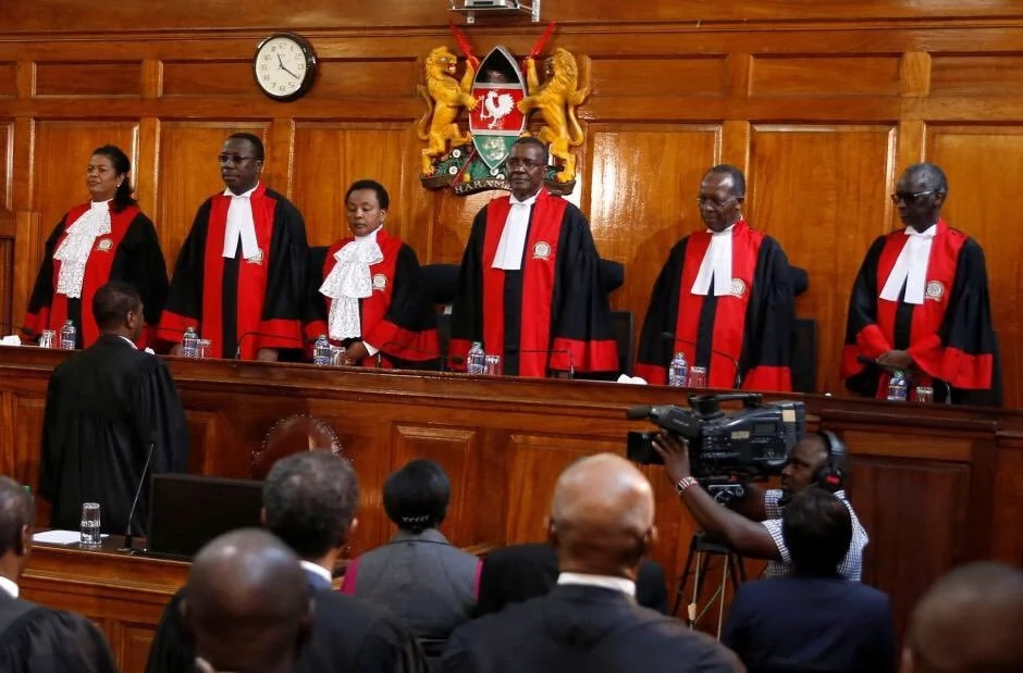 Kenya's Top Judge Hits Back At 'Threats' Over Election Re-Run