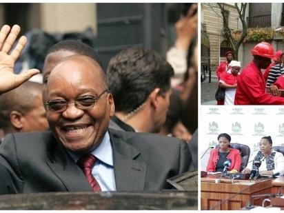 Zuma's surprise visit to KZN legislature prompts opposition parties to stage walkout