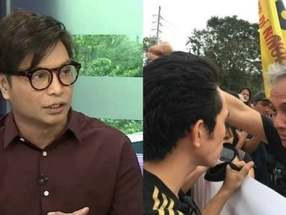 Arnell Ignacio fires back at Jim Paredes after clashing with Duterte Youth in EDSA