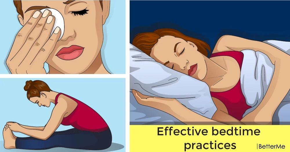 Effective bedtime practices