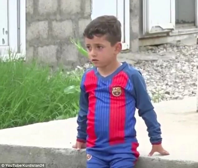 Family of Yazidi boy called Messi was forced by ISIS to change his name