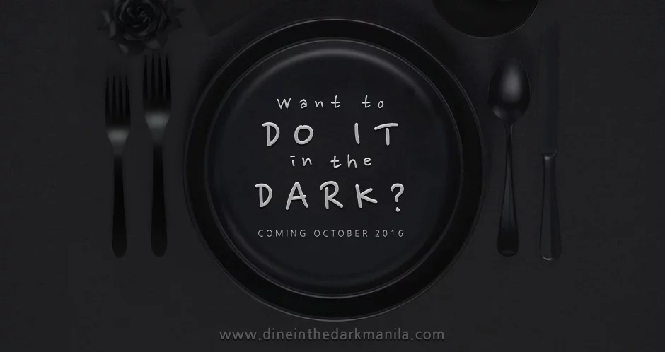 First dine-in-the-dark resto in PH opens soon