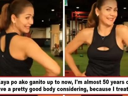 Mas fit and hot pa kaysa ibang dalagang artista! Maritoni Fernandez's body can make any woman green with envy and she's already almost 50