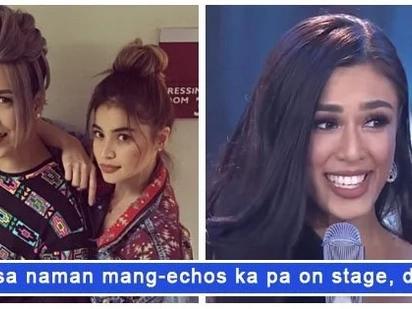 Naging honest lang siya! Vice Ganda and Anne Curtis impressed by Sandra Lemonon's answer in Binibining Pilipinas Q&A