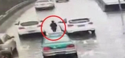 Chinese boy chases after his mother's car for 1.3 miles after she forgot him at train station