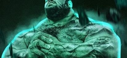 LOOK: Meet Iran's secret weapon  –  the real-life 'Incredible Hulk'