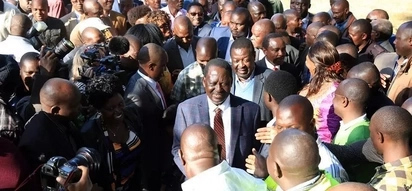Lonely and now flying out; how did Raila end up in this mess?