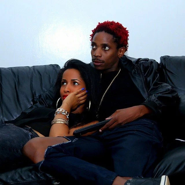 Eric Omondi's girlfriend is not happy about this