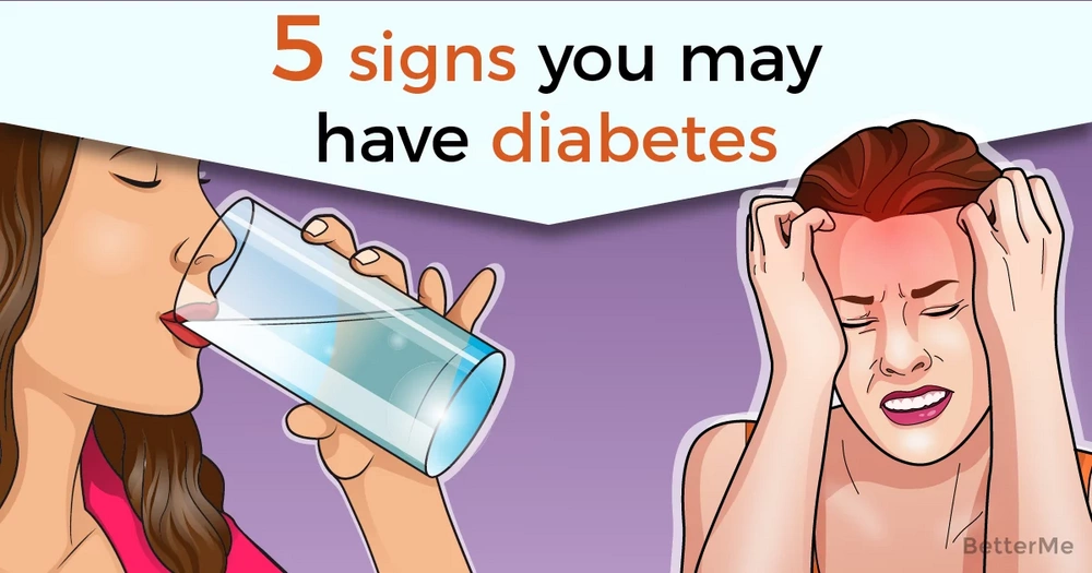 5 signs you may have diabetes