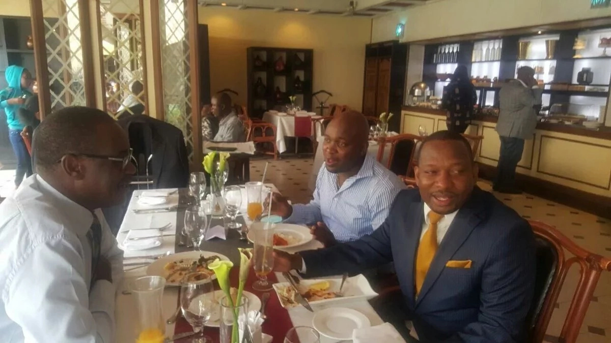 Kenyans mock Kidero and Sonko as the leaders enjoyed lunch together