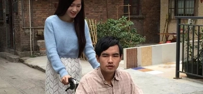 Gorgeous student leaves college to marry and take care of her disabled lover whom she met online for only 3 days