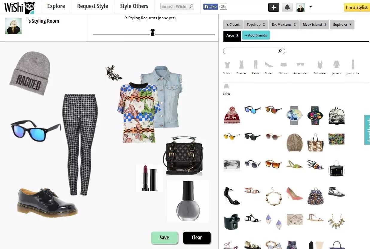 Cinco aplicaciones que te ayudarán a vestirte mejor
