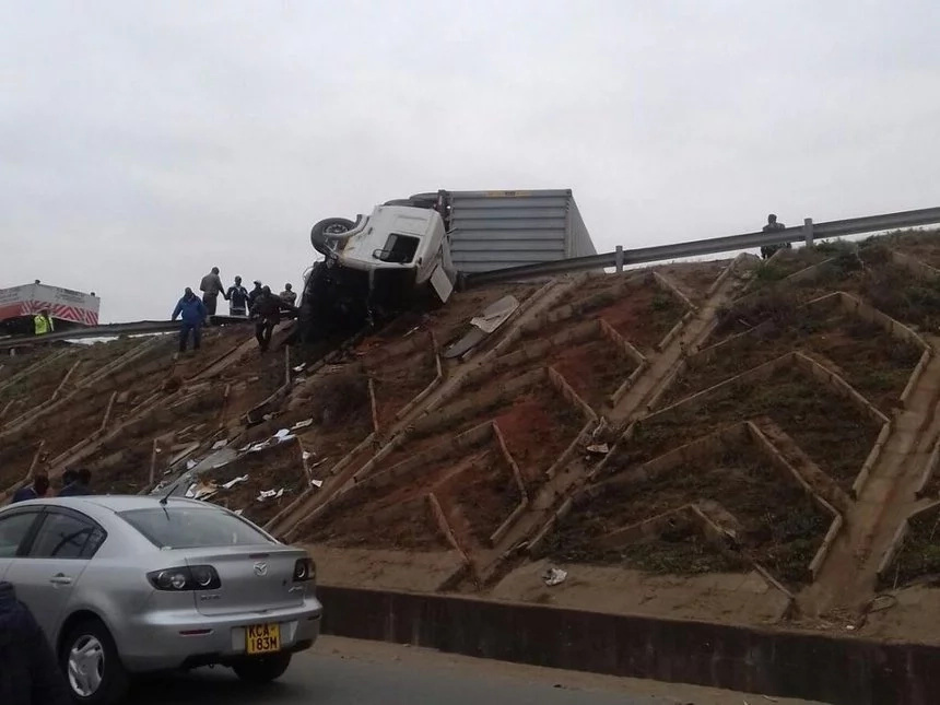 Truck involved in Eastern bypass accident claims three lives