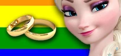 Queen Elsa to get a girlfriend in Frozen 2?
