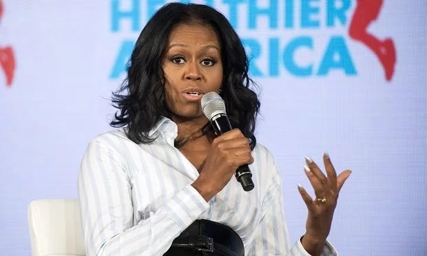 Michelle Obama lashes out at TRUMP for hindering her healthy school lunch program