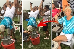 This 79-year-old woman was celebrating her grandson's graduation. The next day, she and her act became worldwide popular
