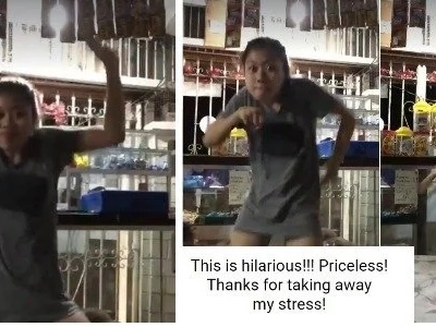 Miss Tindera, hataw kung gumiling! This lady surprises netizens with her amazing dance moves while making bantay the tindahan!