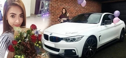 Bangs Garcia's Christmas gift from British fiancé is unbeatable - BMW 4 Series M Sport