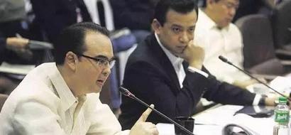 Cayetano calls Trillanes a 'Poetector'