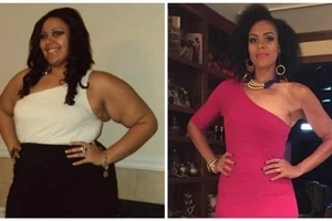 Woman, 30, sheds off over 90kg in 3 years after being told she was 'TOO BIG' to qualify for health insurance (photos)
