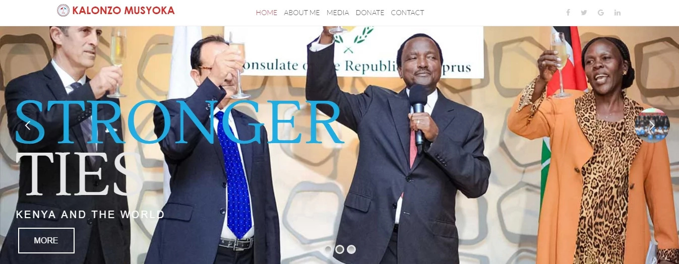 After Raila, Kalonzo Musyoka launches second CORD website