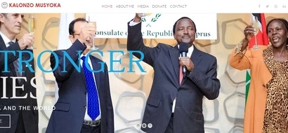 Kalonzo Musyoka launches website ahead of 2017 election