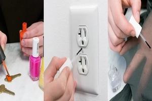 10 maneras en que puedes usar el esmalte de uñas viejo y barato para transformar tu hogar