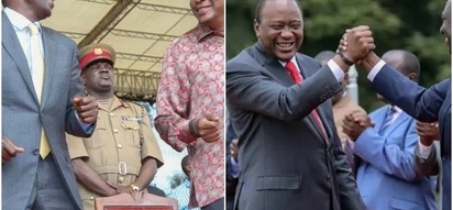 Uhuru bows to pressure from 'NASA supporters' in Kisii, does something unexpected