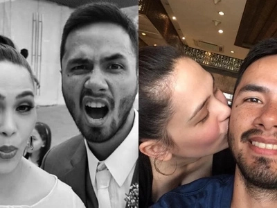 Oyo Sotto gets a sweet double celebration from his wife Kristine Hermosa