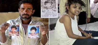 Couple claim 10-year-old girl found living with MONKEYS for years is their lost daughter (photos)