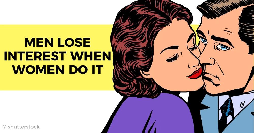 Why do women lose interest in men