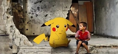 Syrian children post Pokemon pictures; their reason will melt your heart