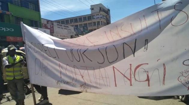 Kisii residents threaten to disrupt NASA rally unless Babu Owino apologises to CS Matiang'i