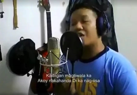 Policeman singing tagalog version of 'One Call Away' went viral