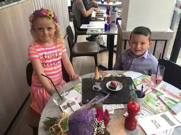 5-year old takes out his best friend on a date