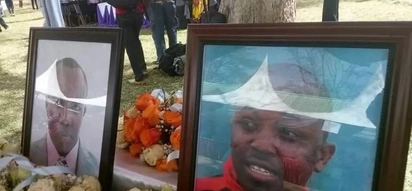 Farewell service held for two victims of the Lake Nakuru helicopter crash